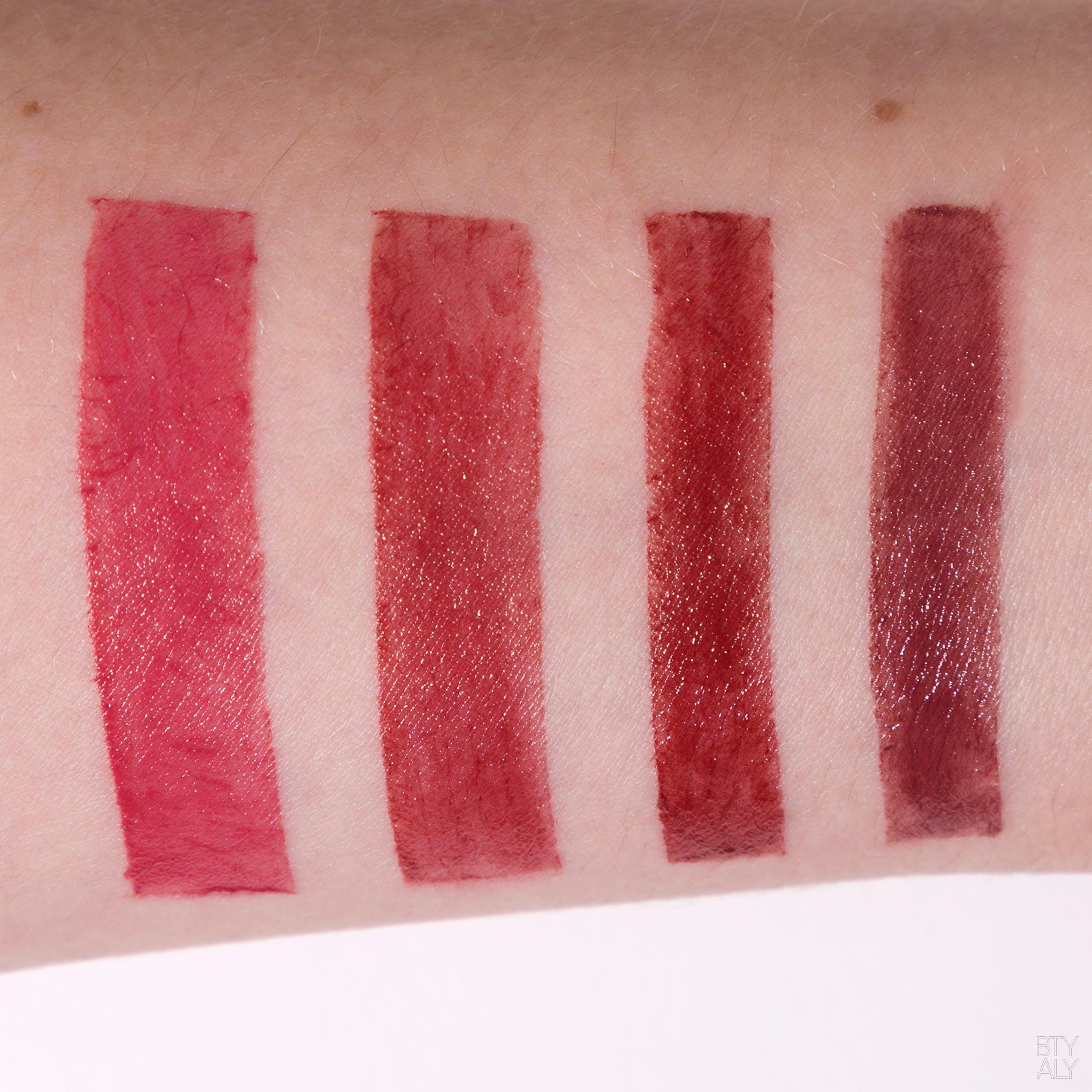 Bobbi Brown Crushed Lip Color: Babe, Plum, Cranberry, Telluride