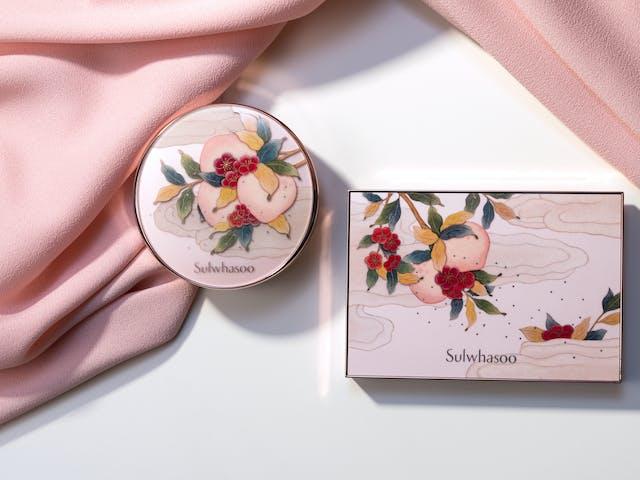 Sulwhasoo Peach Blossom Spring Utopia 2018 collection: Sulwhasoo Perfecting Cushion EX, Makeup Multi Kit