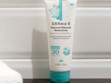 Derma E Natural Mineral Sunscreen SPF30 Body