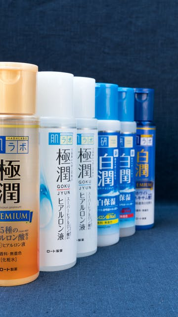Hada Labo Goku Jyun Premium, Moist, Light, Shiro Jyun Clear, Rich, Premium lotions