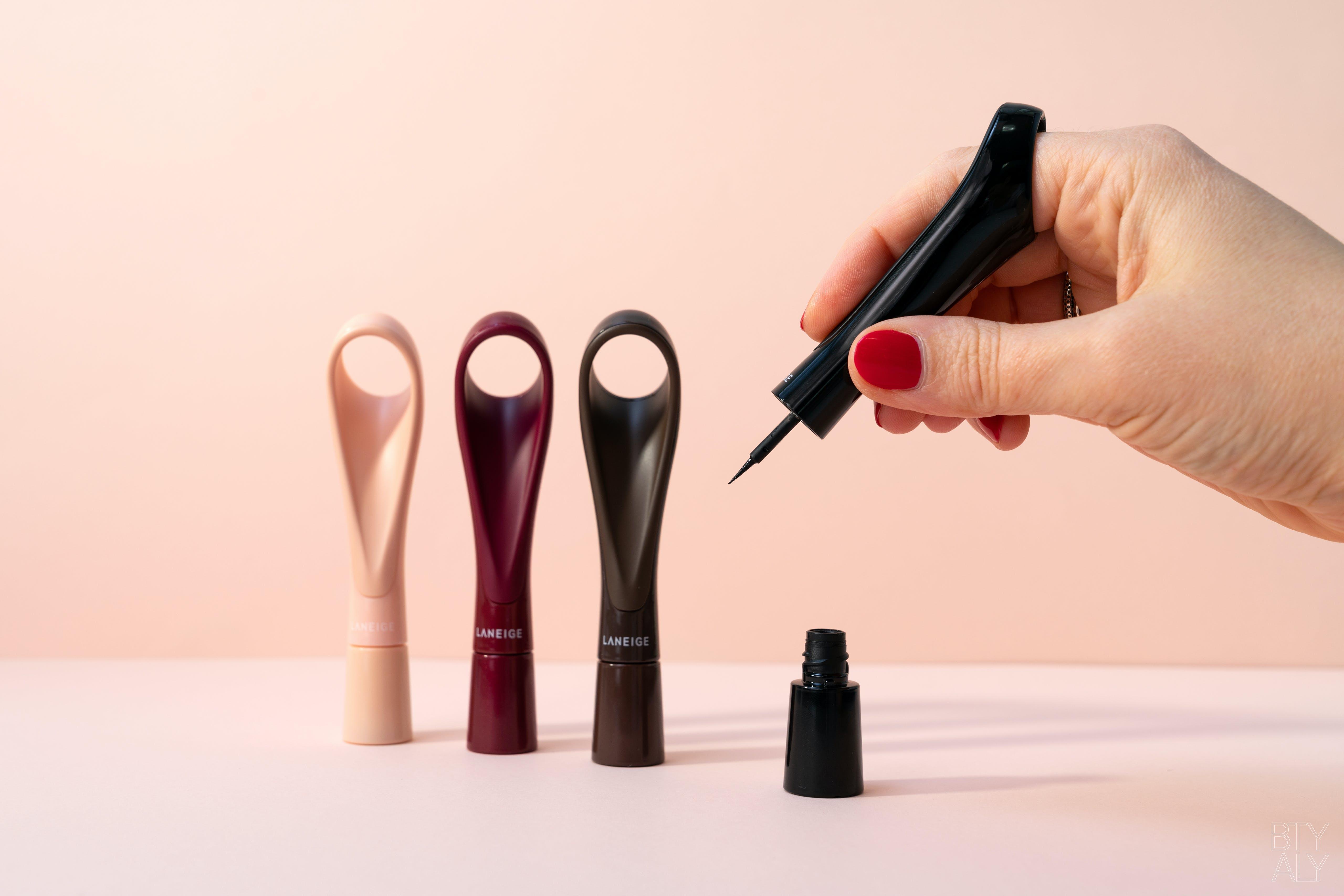 LANEIGE Finger Graphic Liner Black, Brown, Burgundy, Sequin Beige