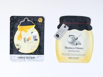 Papa Recipe Bombee Black Honey Mask Pack