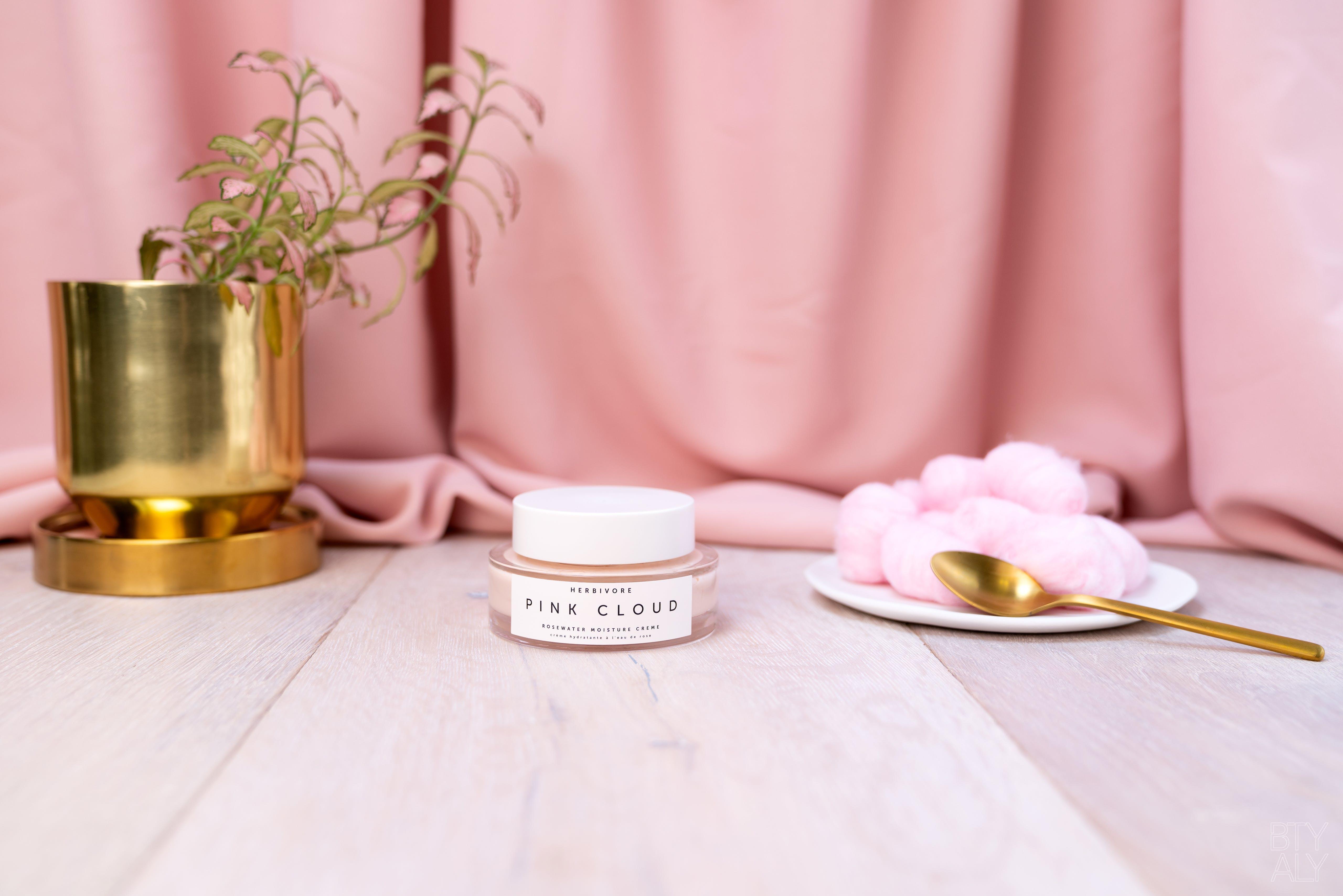 Herbivore Pink Cloud Rosewater Moisture Cream Title