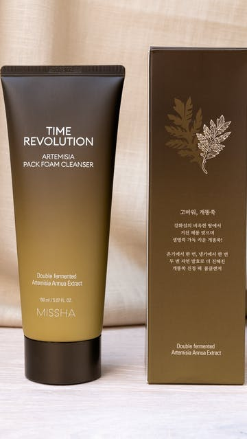 Missha Time Revolution Artemisia Pack Foam Cleanser