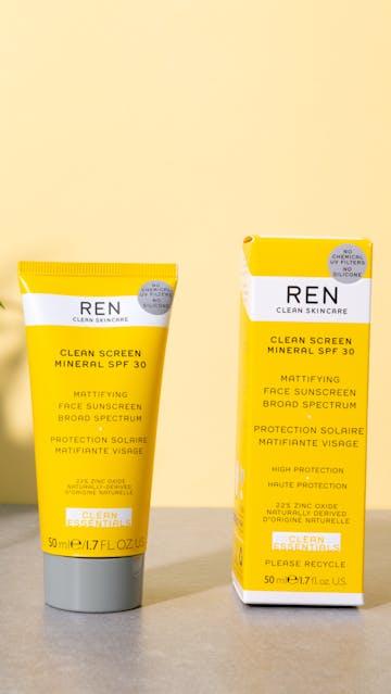 REN Clean Screen Mineral SPF 30 packaging