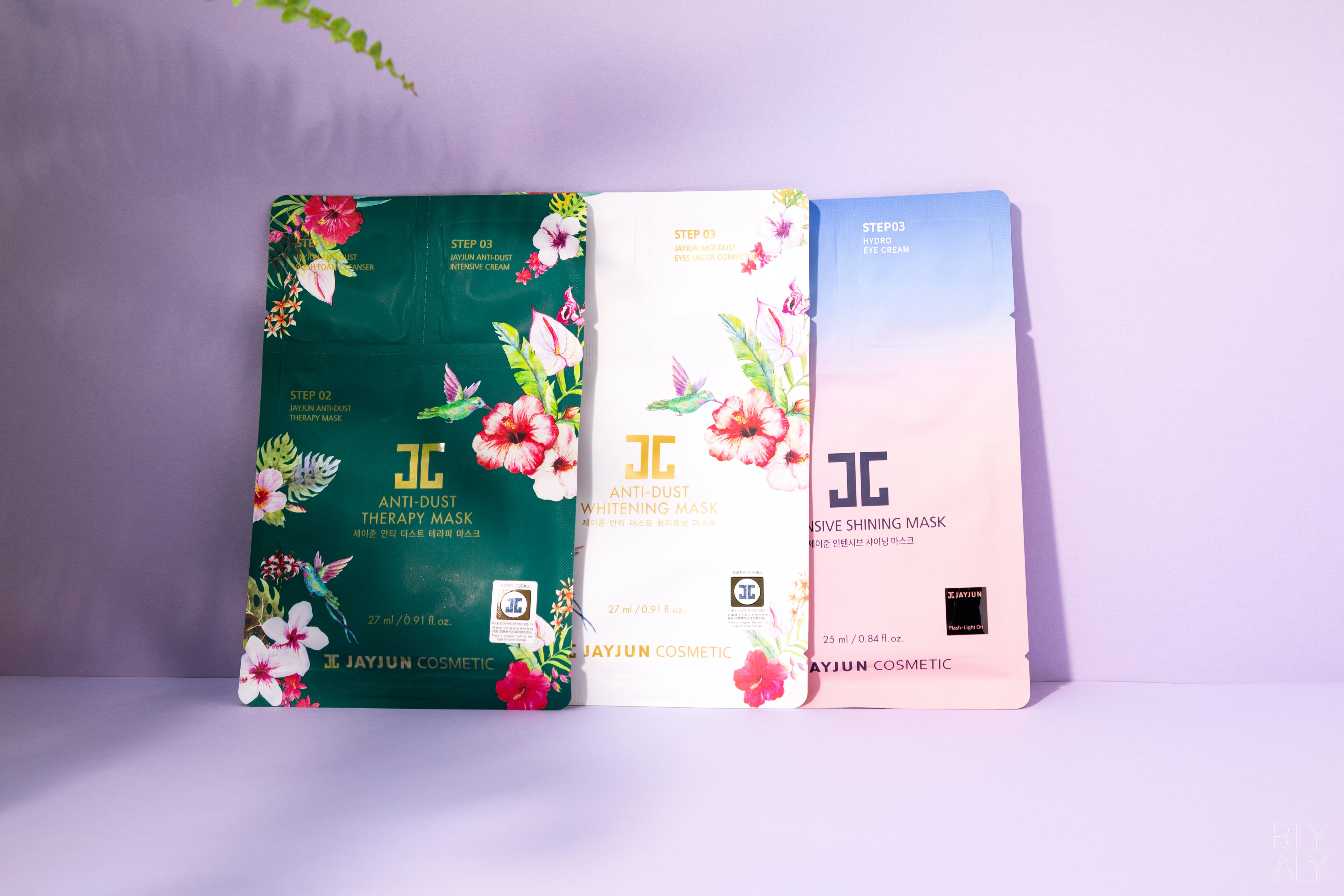 Jay Jun Cosmetics Anti Dust Therapy Mask, Anti Dust Whitening Mask, Intensive Shining Mask