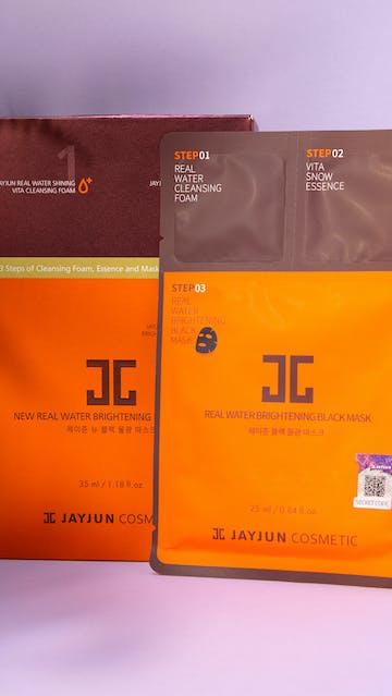 Jay Jun Cosmetics Real Water Brightening Black Mask