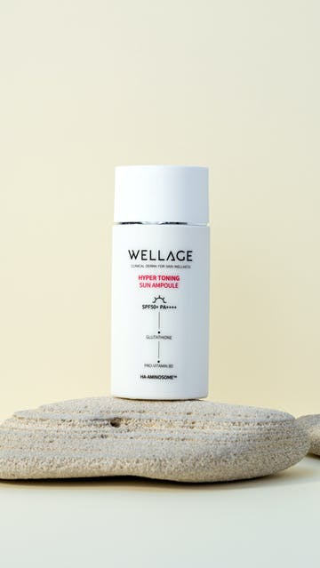 Wellage Hyper Toning Sun Ampoule Sunscreen