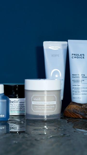Five Moisturizing Gel-Creams For Summer: Dr. Jart+, Klairs, Belif, Paula's Choice, Iope