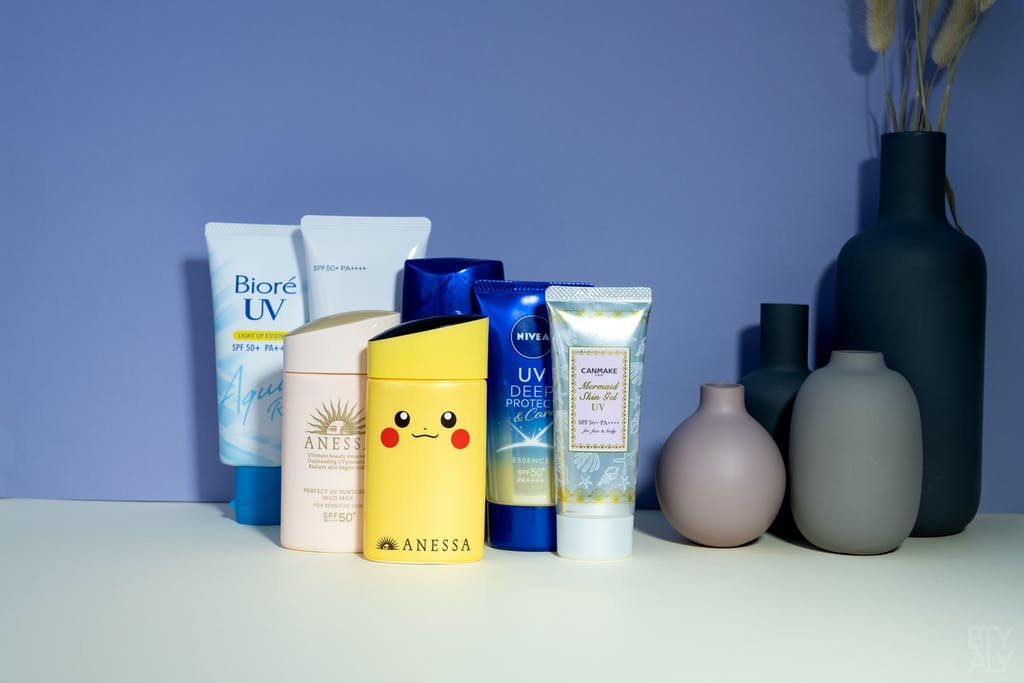 Face Sunscreen Guide 2021 Part 2 Japanese Sunscreens