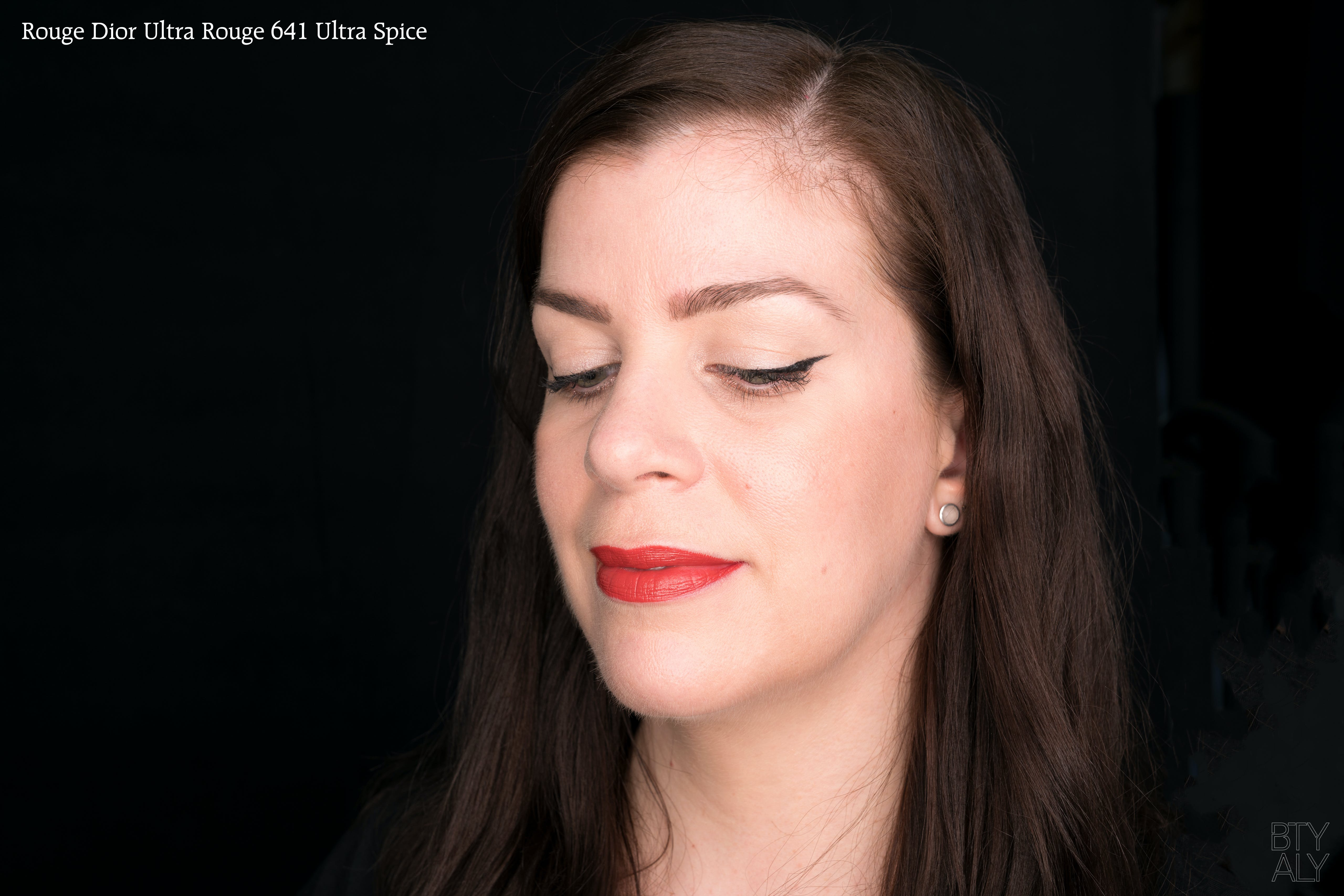Rouge Dior Ultra Rouge Lipsticks 641 swatch