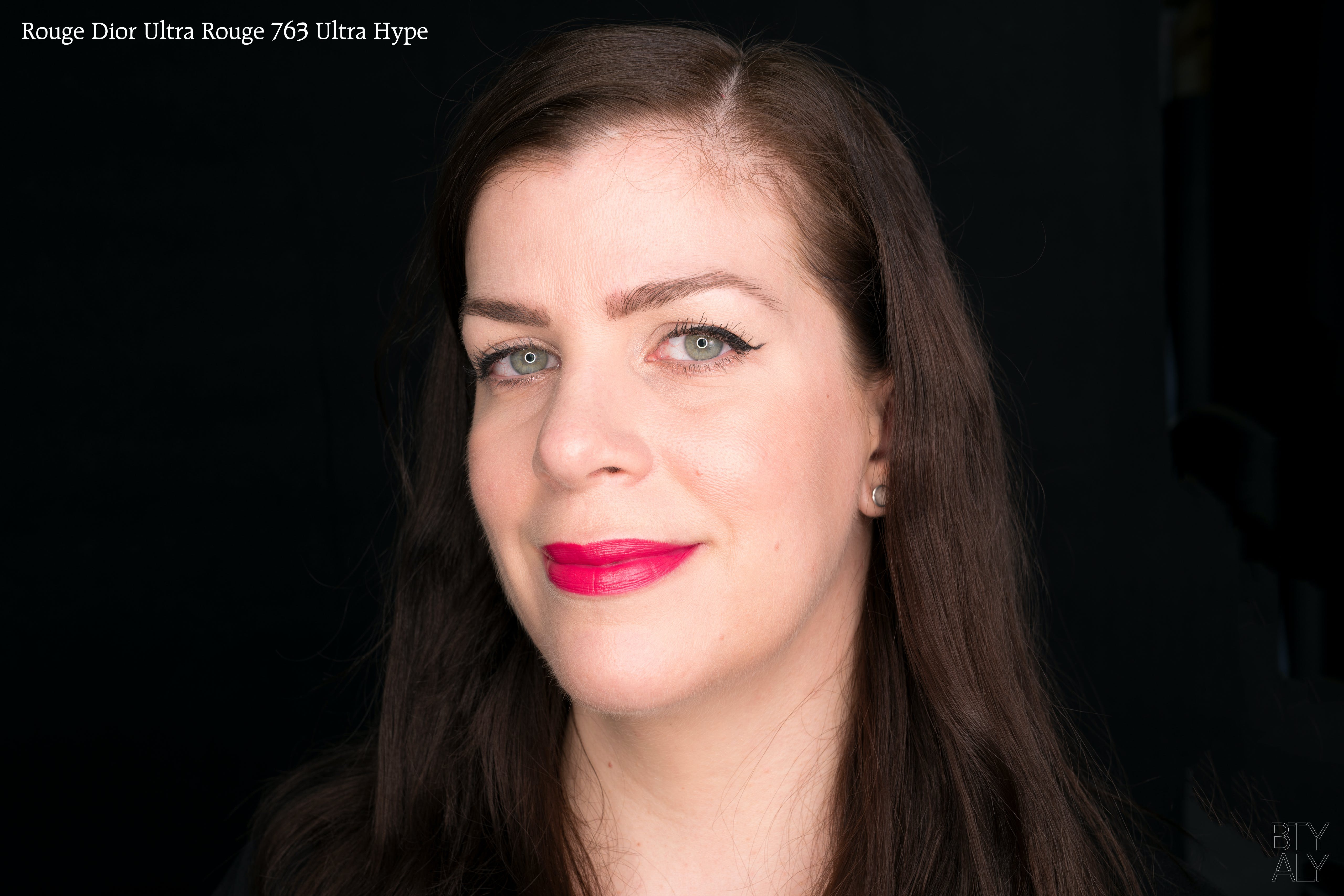 Rouge Dior Ultra Rouge Lipsticks 763 swatch