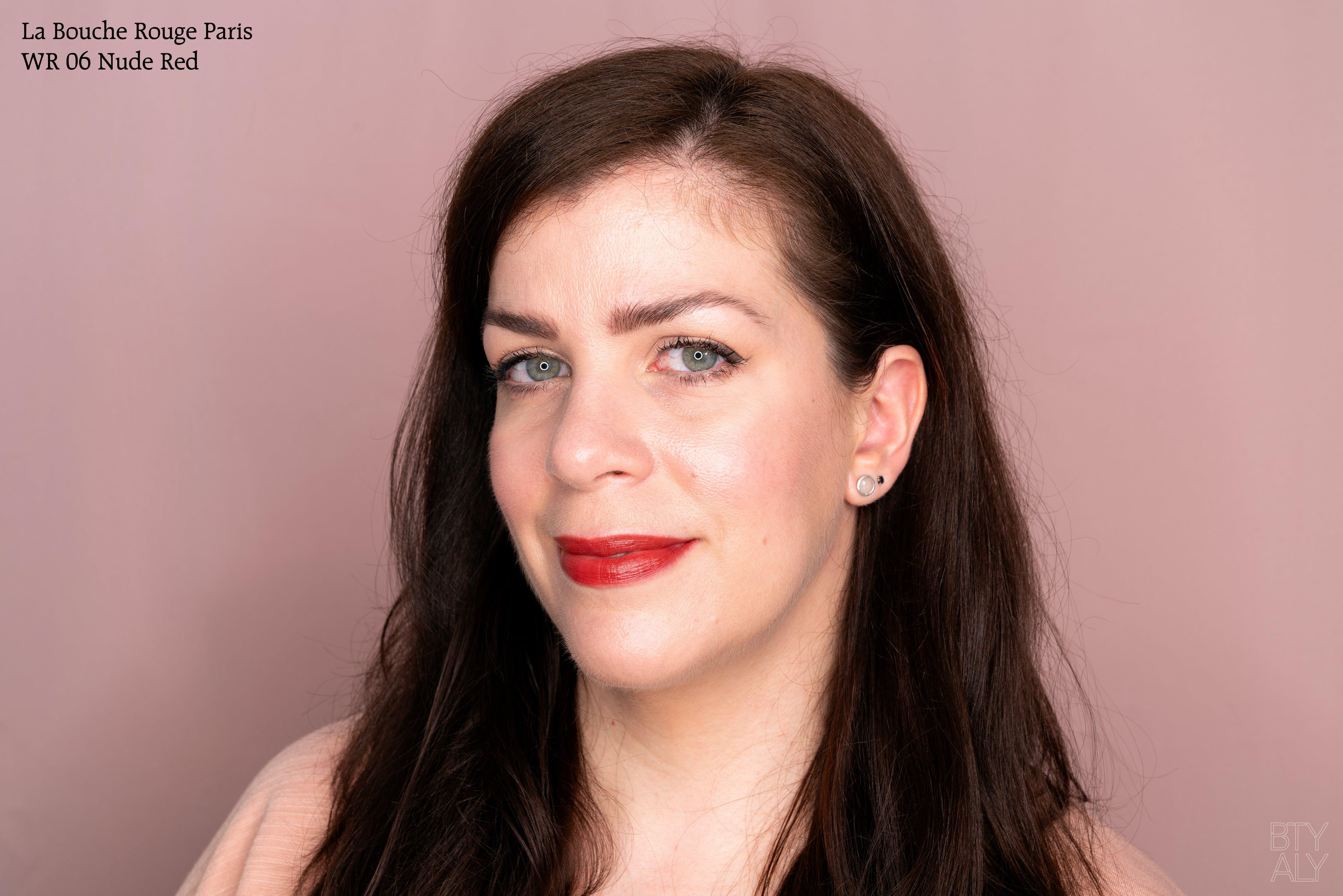 La Bouche Rouge Paris Nude Red Lip Swatch